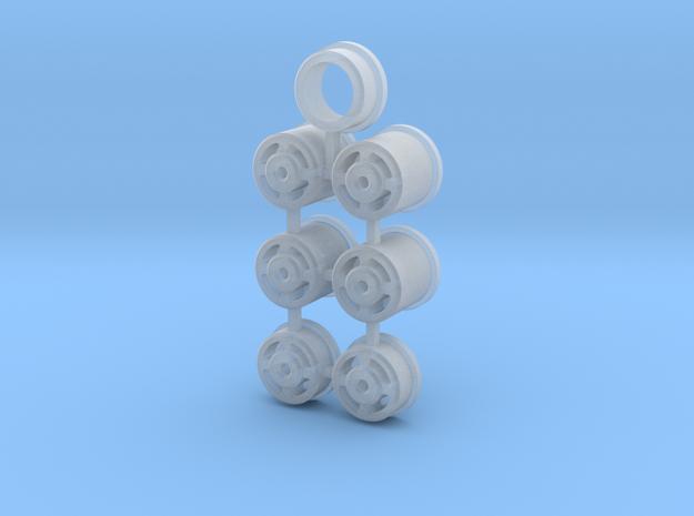 Trilex wielen in Frosted Ultra Detail