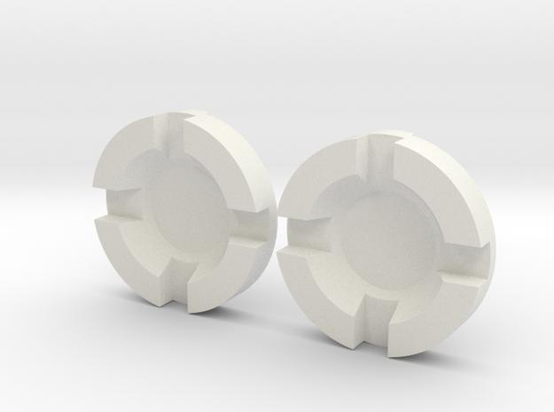 Thruster Center Insert Pairs in White Strong & Flexible