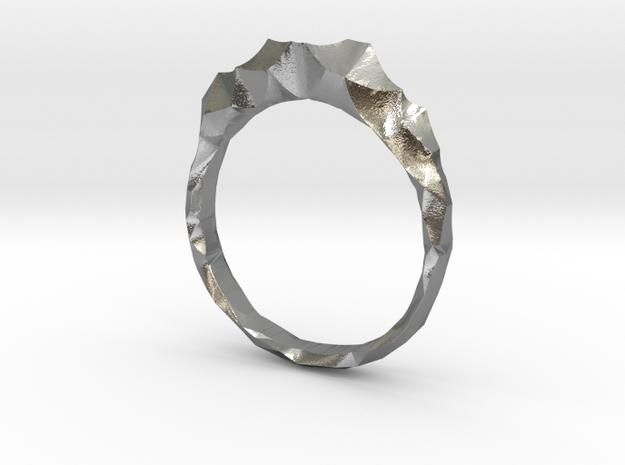 shard ring in Natural Silver