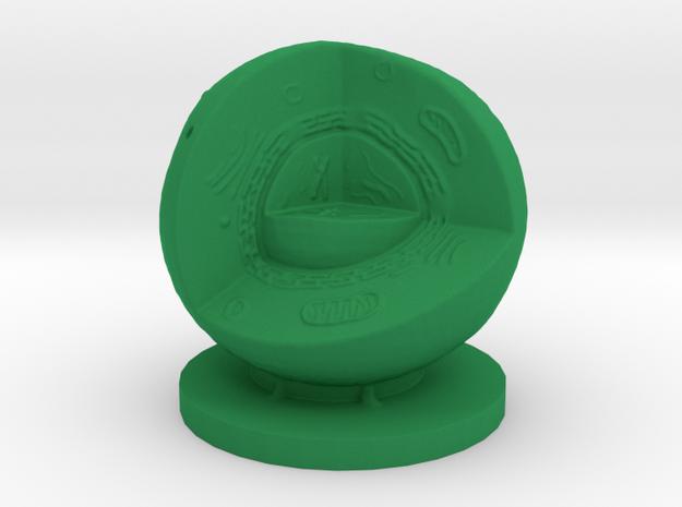 Cell Quarter 100mm 3d printed