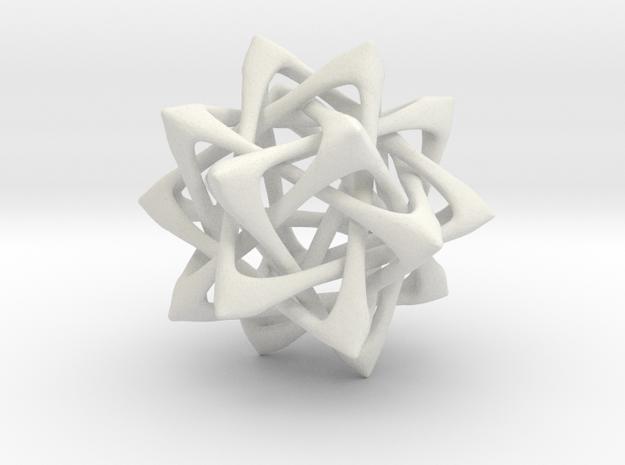 Tetrahedron Stack 3d printed