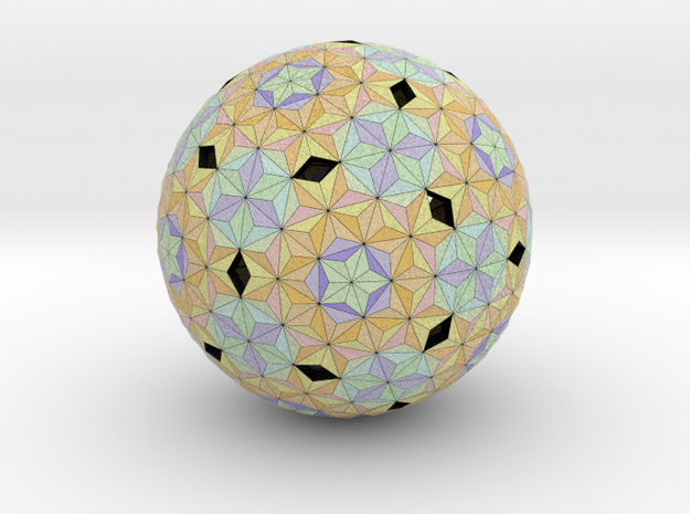 Football Triangular in Full Color Sandstone