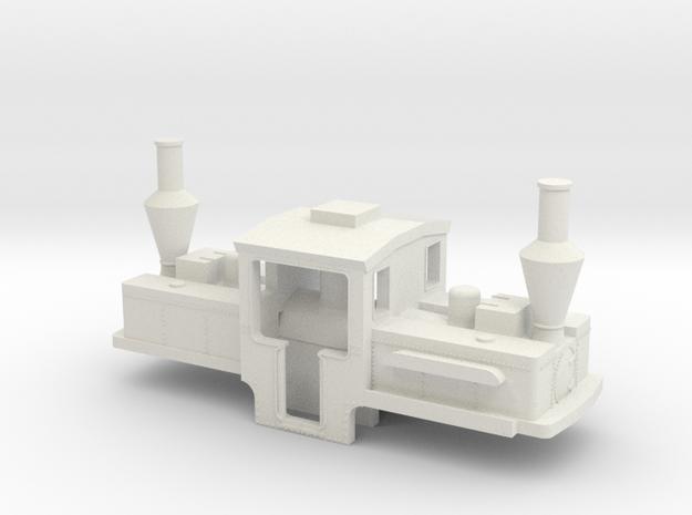 B-1-160-pechot-bourdon-1c in White Natural Versatile Plastic