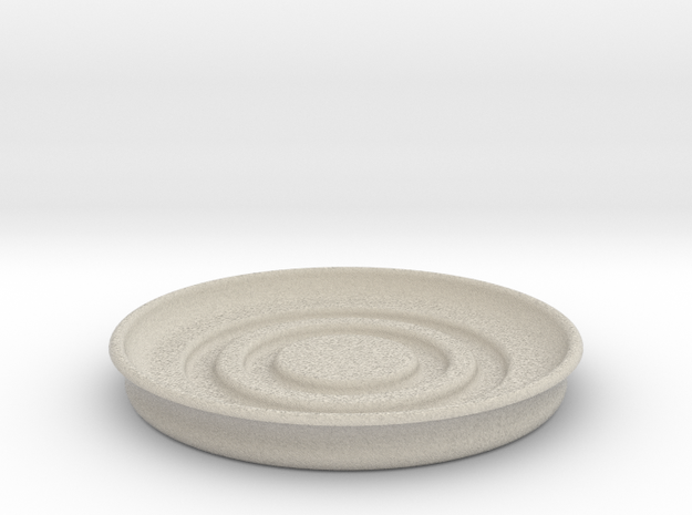 Circular Coaster in Sandstone