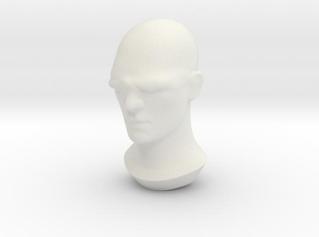 Cyclops in White Natural Versatile Plastic