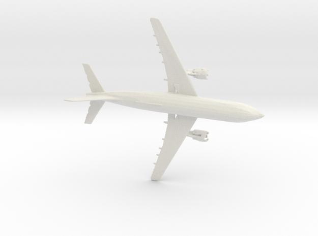 AIRBUS in White Natural Versatile Plastic