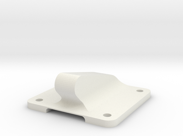 TBS Caipirinha Bungee Hook in White Natural Versatile Plastic
