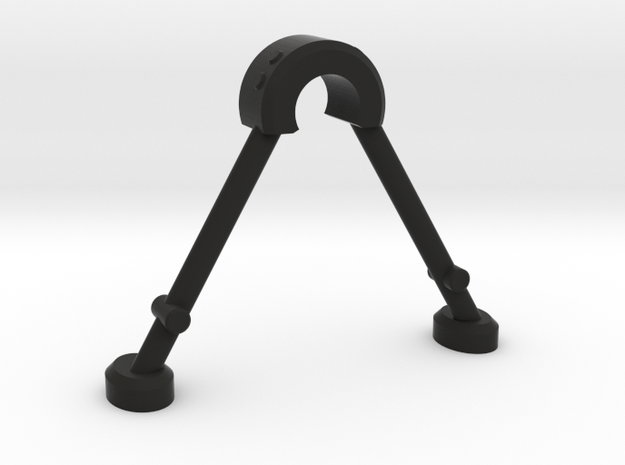 Sniper Bi-Pod in Black Natural Versatile Plastic