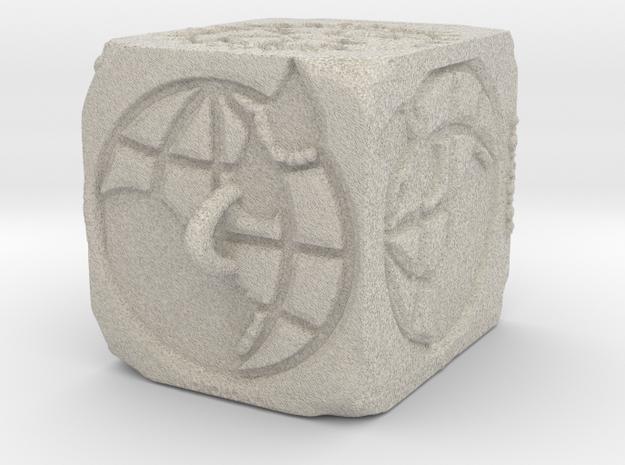 Sandstone ROTARY Ornament 2014 (Thicker) in Sandstone