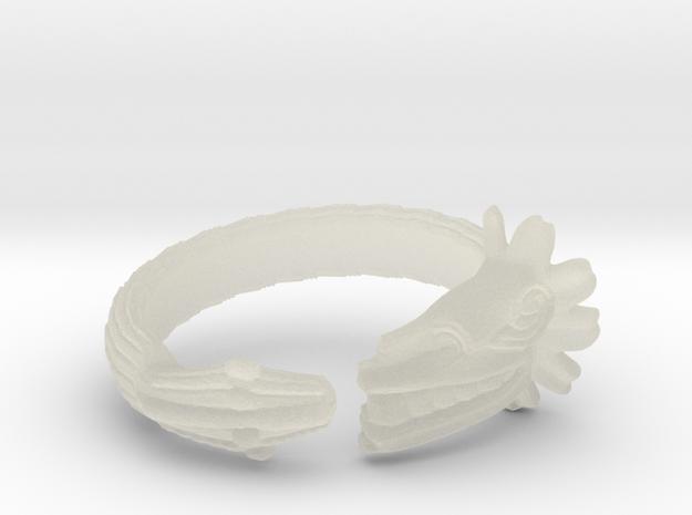 Anillo Quetzalcoatl in Transparent Acrylic