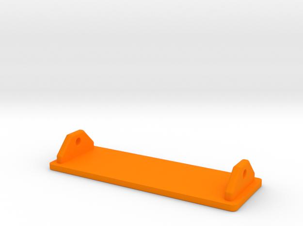Pinball - Voltage Tester / Mod Lid (Part 2 of 2) in Orange Processed Versatile Plastic