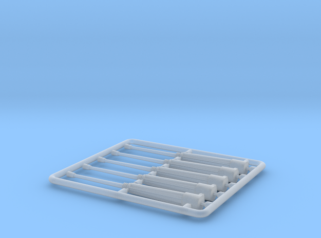 VCI-PIZARRO-H0-SET-CAÑONES-5 in Smooth Fine Detail Plastic