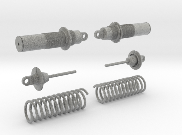 Koni Coilover Shock Assembly - .6 in. in Metallic Plastic