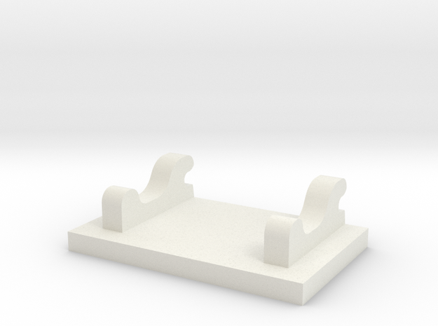 Frame Plate WSI in White Natural Versatile Plastic