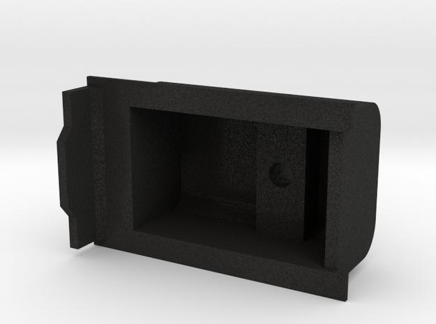 3D Garrat Aguada in Black Acrylic
