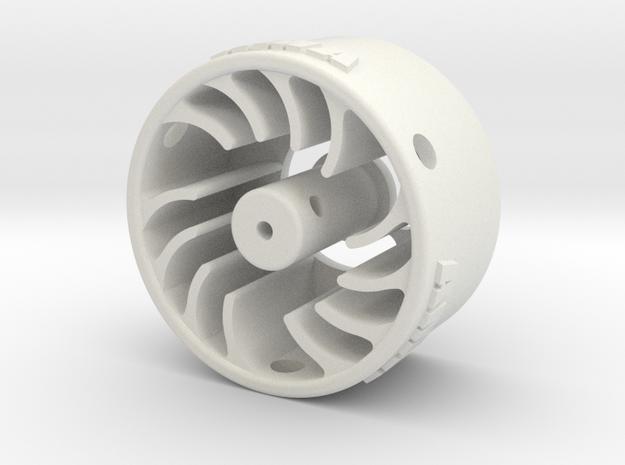 Mini-Z Motor Break-In Fan High Load in White Natural Versatile Plastic