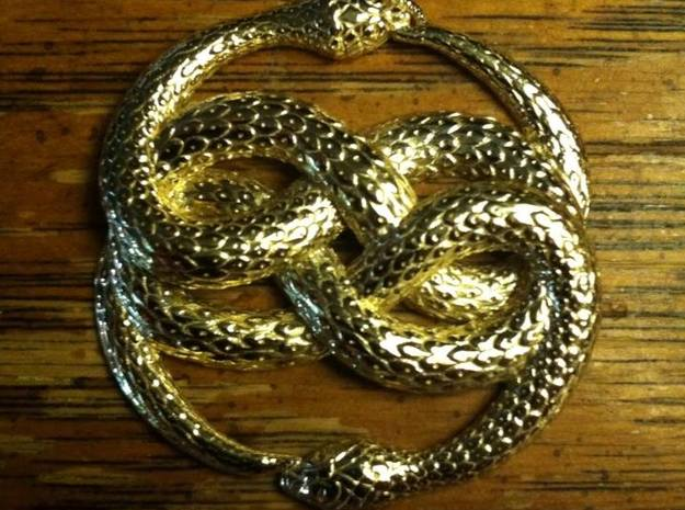 3D-Printed AURYN Medallion