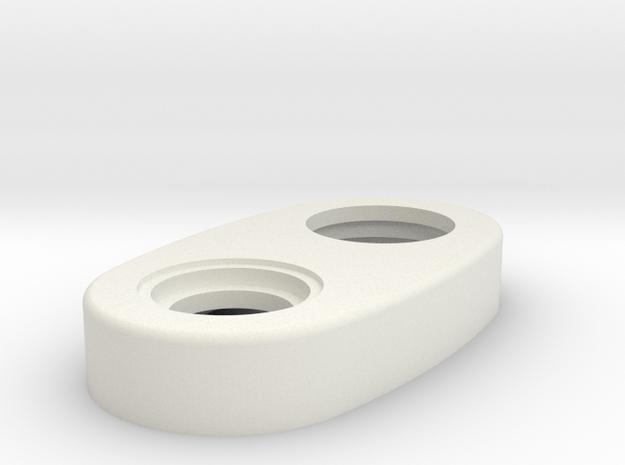 Mechanical - Top Cap Regular Version in White Strong & Flexible