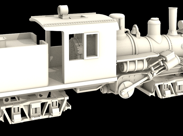 N Scale 25 Ton Climax 3d printed