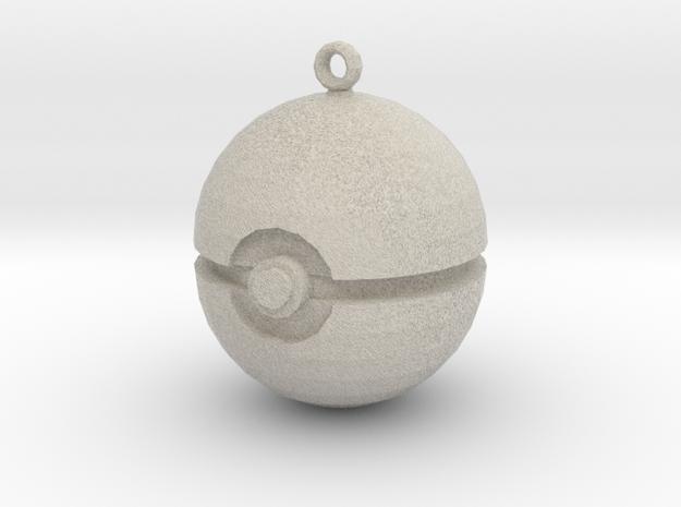 Pokeball in Natural Sandstone