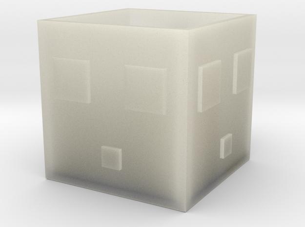 Minecraft Slime Mug in Transparent Acrylic