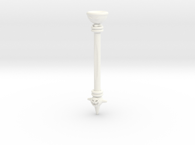Bowser Stylus in White Processed Versatile Plastic