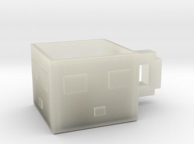 Minecraft Slime Teacup 5.5 Cm in Transparent Acrylic