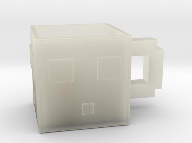 Minecraft Slime Mug 6.5 Cm in Transparent Acrylic