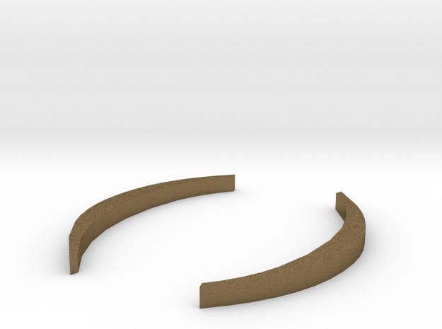 Round Brackets - ( ) in Natural Bronze