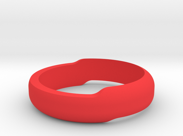 Minimal Bracelet (Small) in Red Strong & Flexible Polished