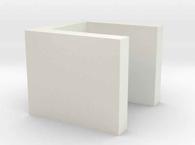 Chrn6pn9vh4g1259o5m2dc6e42 51512025.stl in White Natural Versatile Plastic