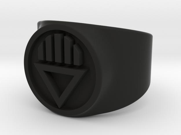 Black Death GL Ring Sz 7 3d printed