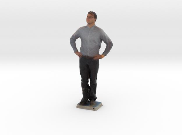 Man With Hands On Hips 6 - Denver Startup Week 201 in Full Color Sandstone
