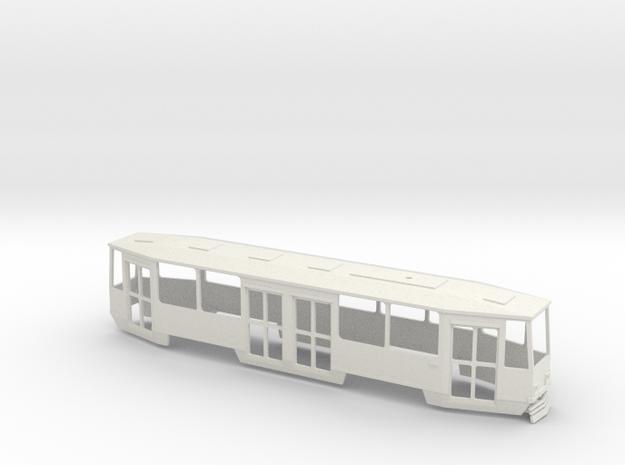 Konstal 105Na Triebwagen Standart Polen in White Natural Versatile Plastic