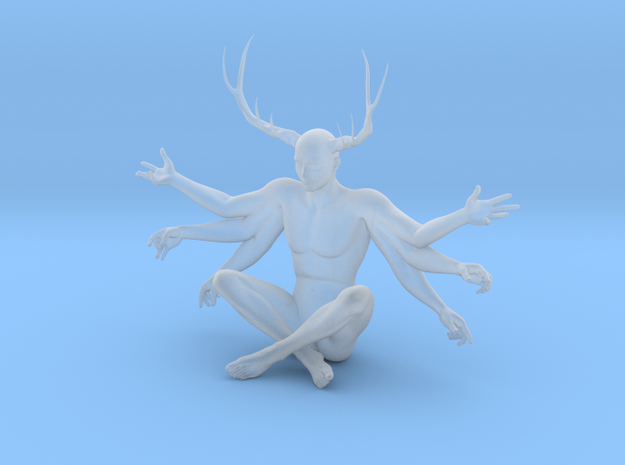 38mm Six Armed Stag