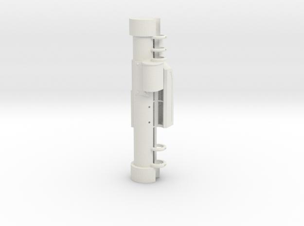 ES L DA 1 in White Natural Versatile Plastic
