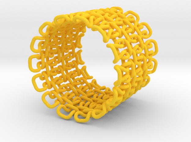 Stitch Bracelet - S 3d printed
