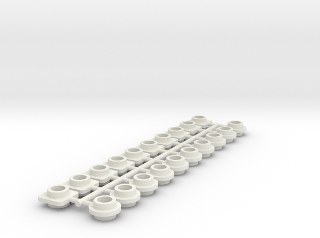 BRICK cheats n°2 in White Natural Versatile Plastic
