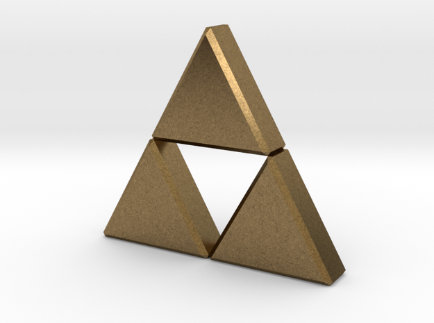 Triforce 3d printed