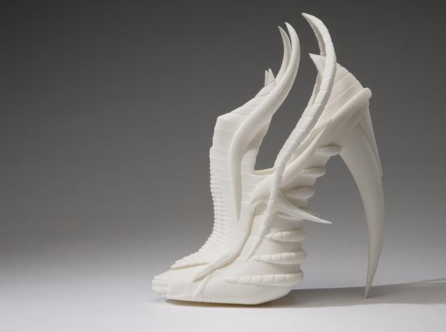 Janina Alleyne - Exoskeleton Shoe (Top) 3d printed