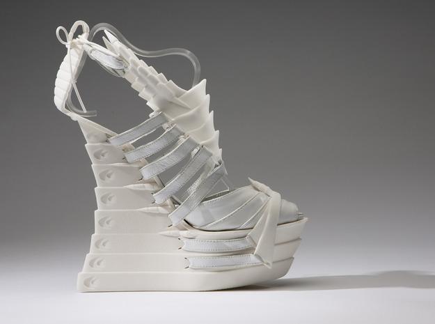 Janina Alleyne - Scorpion Shoe (Bottom) 3d printed