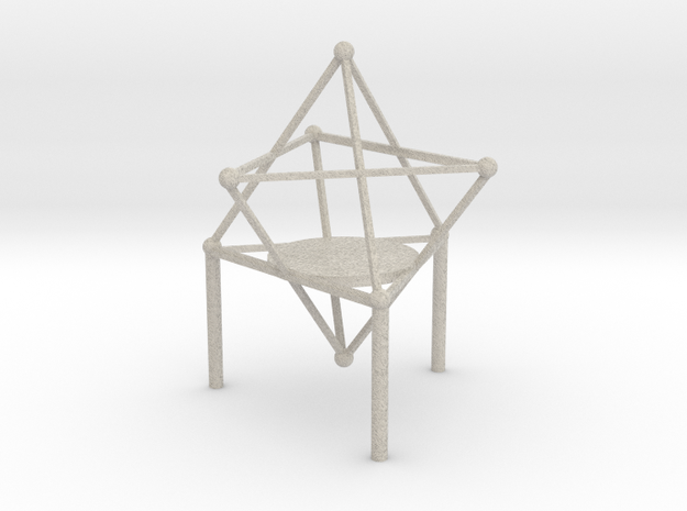 Stand of Merkaba in Natural Sandstone