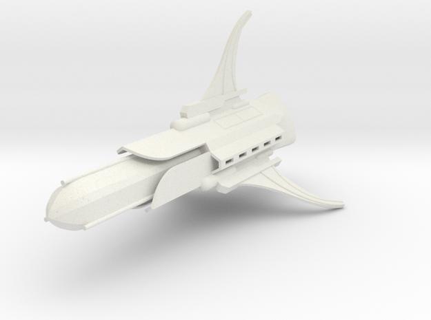 1/10 000 Chuyinka Fleet Carrier in White Strong & Flexible