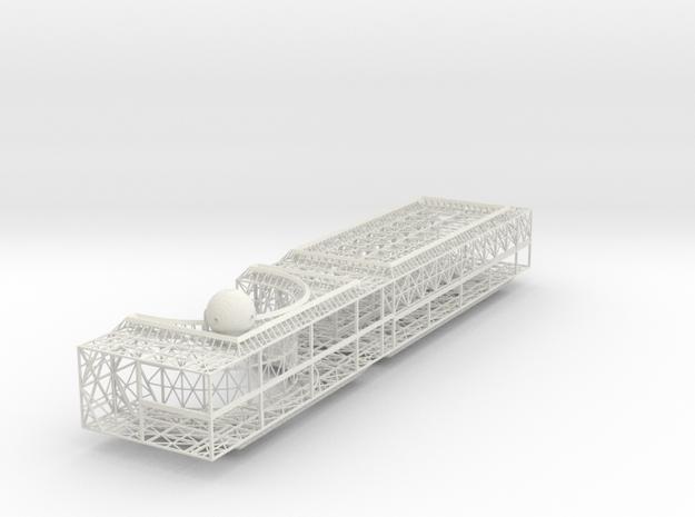 Power Centre Module Port V0.5 in White Natural Versatile Plastic