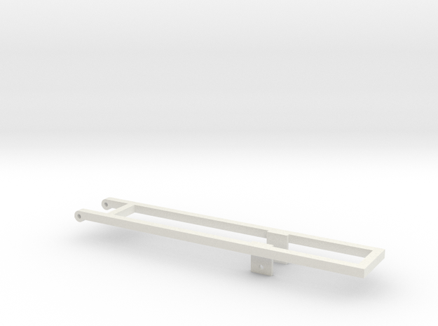 1/64th 20' and 22' Mounting frame for truck in White Natural Versatile Plastic