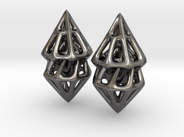 Turn One Pair in Polished Nickel Steel