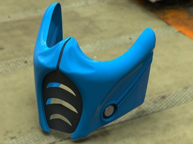 MK9 Sub Zero Mask 3d printed