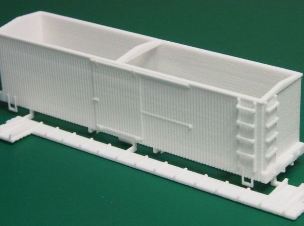 HOn30 Sandy River 28 foot Boxcar 3d printed