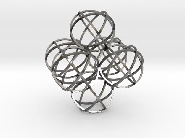 Packed Spheres Octahedron 3d printed