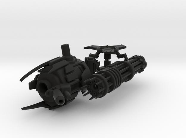 TFP Skyquake's Massive Minigun 3d printed